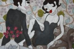 """""""Flirt"""", Upplaga 40, numrerad och signerad Bildstorlek 58 x 61 cm"""