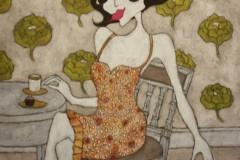 """""""On my own"""", Upplaga 40, numrerad och signerad Bildstorlek 46 x 55 cm"""