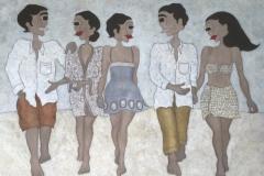 """""""The walk"""", Upplaga 40, signerad och numrerad, Bildstorlek 70 x 85 cm"""