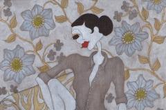 """Fragrance of a man"", 58 x 61 (såld)"