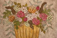 """Bouquet"", 65 x 68 (såld)"