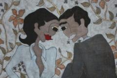 """""""Intimacy"""", 65 x 68 (såld)"""
