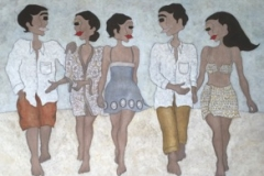 """The walk"", 135 x 110 (såld)"